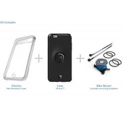 Uchwyt rowerowy z etui dla iPhone 7 Plus