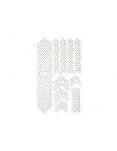 naklejki Frame XL White/Maze