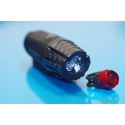 SE-U1 - lampa rowerowa LED przód i tył